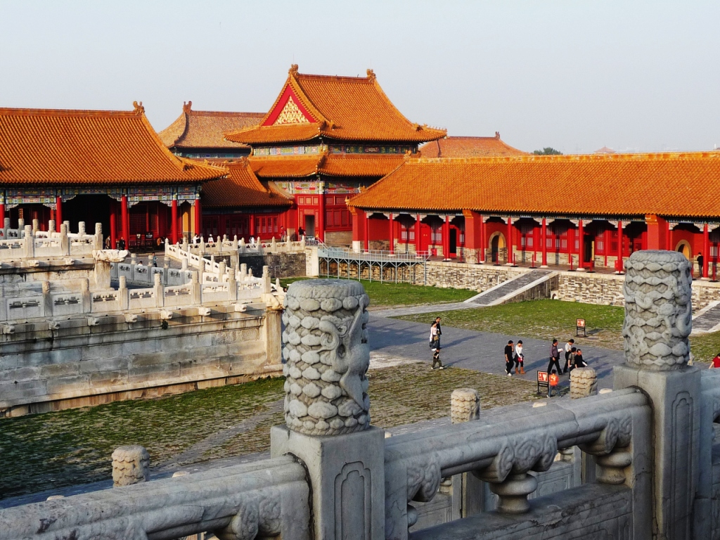 Beijing, Forbidden City and THE Wall